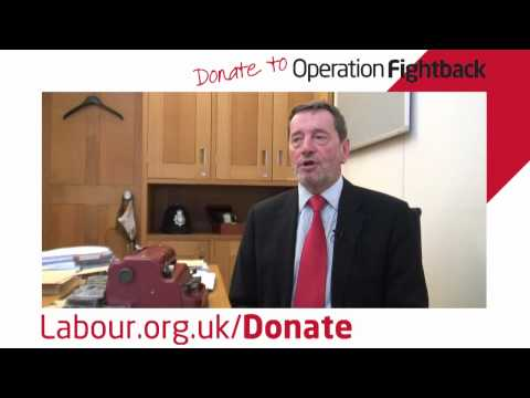 A thank you from David Blunkett