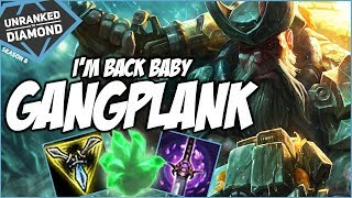 HUZZY BACK ON GANGPLANK! - Unranked to Diamond - Ep. 118 | League of Legends
