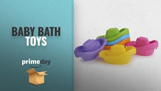 Save Big On Baby Bath Toys | Prime Day 2018: Munchkin Bath Toy, Little Boat Train, 6 Count