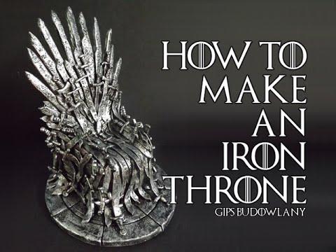 Diy Iron Throne Cake Topper
