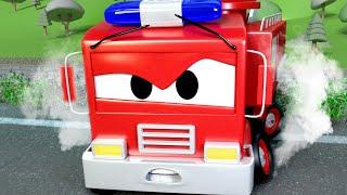 Patrol Policyjny - Niebezpieczeństwo na torach - Miasto Samochodów 🚓 🚒 Bajki Dla Dzieci