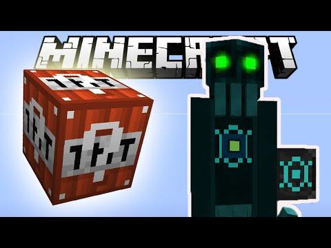 ТНТ ЛАКИ БЛОК ПРОТИВ ХРАНИТЕЛЯ БЕЗДНЫ | Лаки Битва 010 в Minecraft с GeronCraft