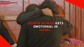 """Joseph Irungu """"Jowie"""" gets emotional in court"""
