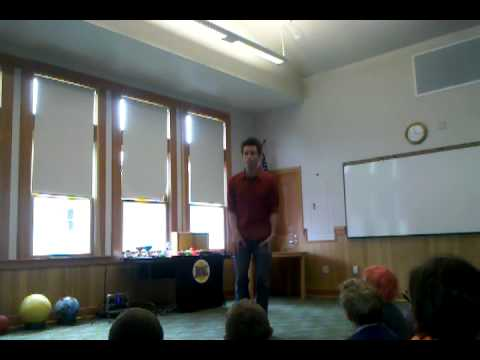 Alex Zerbe -- Library Song -- Ilwaco WA Library.
