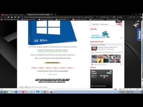 Descargar windows 8.1 pro 32 Y 64 bits full español