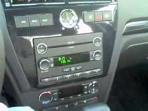 2008 Ford Fusion Awd With Sync System Youtube