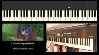 download lagu Maudy Ayunda - Cinta Datang Terlambat Ost. Refrain Piano gratis