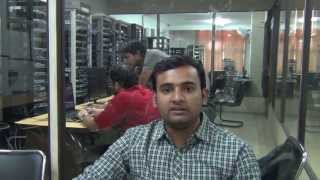 Job Placement of Nishant in RBS as Network Engineer after CCNA, CCNP course from NB