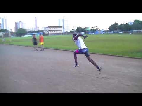 Treino de velocista- Atleta Rogerio - Associação de Atletismo Corpo e Ação