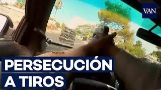 PERSECUCIÓN POLICIAL y tiroteo en Las Vegas