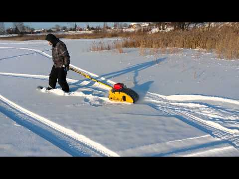Толкач лыжника своими руками