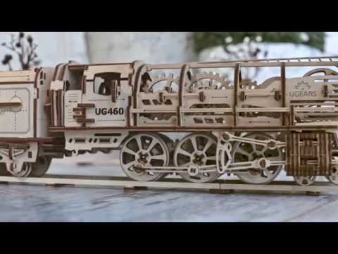 Locomotive with tender «UGEARS 460»