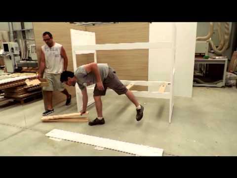 Montaje litera 3 camas youtube - Como hacer una litera ...
