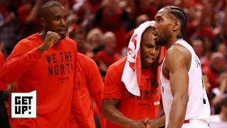 Are the Raptors back in the series after 2OT win vs. Bucks | Get Up!