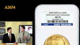 2009 $50 Gold Buffalo