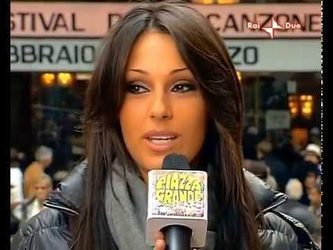 """Anna Tatangelo a """"Piazza Grande"""""""