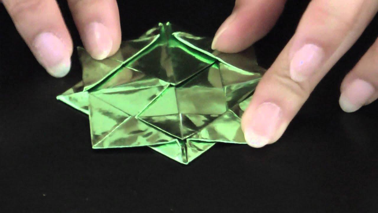 すべての折り紙 折り紙メダルの作り方 : 折り紙でつくるメダル(2 ...