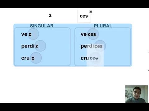 Lengua, 2º. Aprendo a escribir. Ortografía: plural de palabras acabadas en z