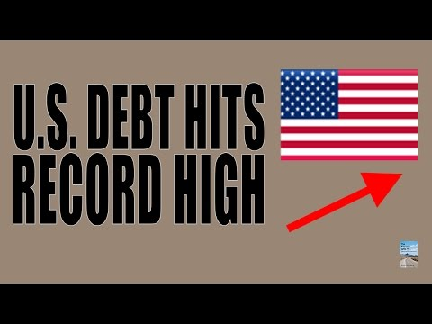 U.S. Debt Record High as Entire World Attempts Deficits to Prevent Crash!