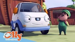 Cars for Kids - Loading and Unloading Goods | Transport for Kids | Olly the Little White Van