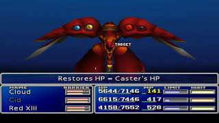 Final Fantasy VII: New Threat 1.5 Arranged  - Carmine Weapon (no ultimates or powersoul etc)