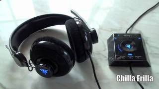 Chilla Frilla - Razer Megalodon 7.1 Headset Unboxing and Review (HD) 720p