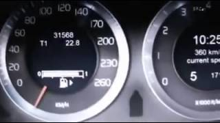 Volvo S60 382 km/h world record speed +800ps AWD