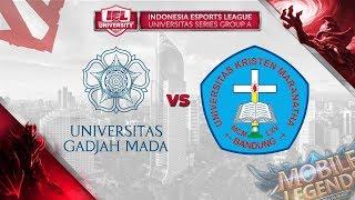 UNIVERSITAS GADJAH MADA vs UNIV KRISTEN MARANATHA @IEL 2019: University Series Day 7 (MLBB - DOTA 2)