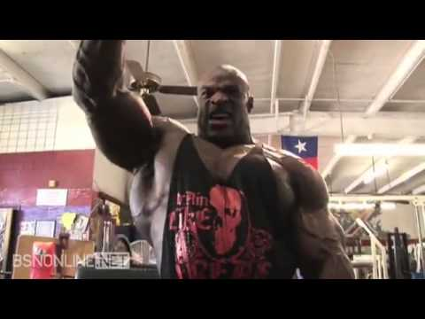 Ronnie Coleman Shoulder Workout video