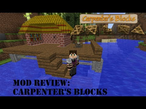 Carpenter's Blocks V1.82 para Minecraft 1.6.2 - mod review e instalación