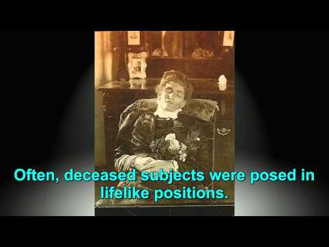 Creepy Post-mortem Photos From The Victorian Era video