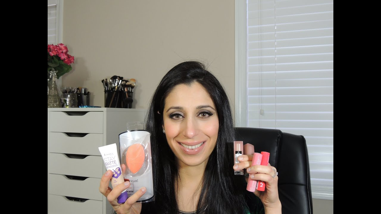 NEW Drugstore Makeup Haul 2014: NYX, Wet n Wild, Maybelline, Rimmel ...