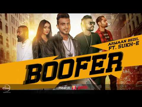 Boofer (Full Audio Song) | Armaan Bedil feat Sukh-E & Whistle | Punjabi Audio SOngs | Speed Records