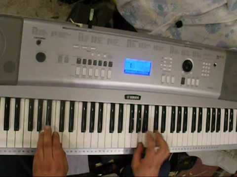 Techno, Dance played on keyboard