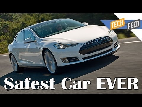 Tesla Model S - SAFEST CAR EVER MADE!