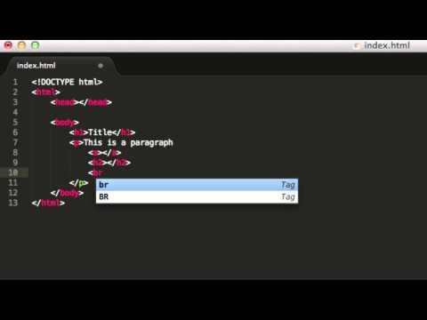 HTML tutorial 3- Basic html sintax