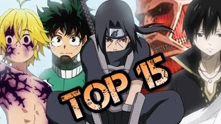 Top 15 Best Most Anticipated Anime of 2016