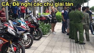 Tiếng Pô uy lực của hàng chục xe PKL tại khu đô thị Sala - CuongMotor