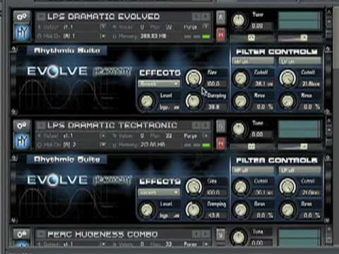 Heavyocity Evolve Demo Part 1