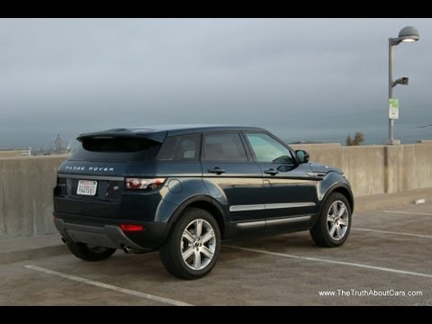 2013 Land Rover Range Rover Evoque Review and Road Test