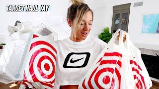 a target haul + my night routine!
