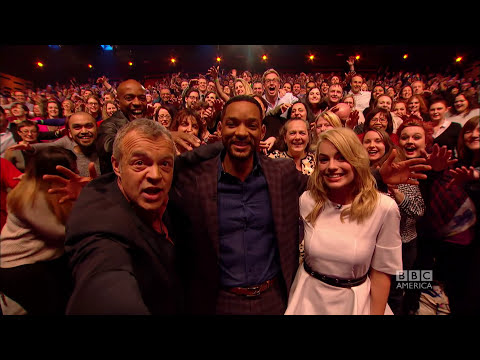 Will Smith called out for HOVERHANDS on The Graham Norton Show