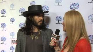 Russell Brand Interview at Nancys Tree Garden Party