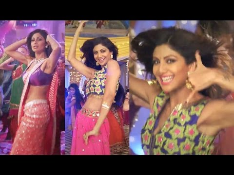 shilpa shetty showing armpits in hot dance thumbnail