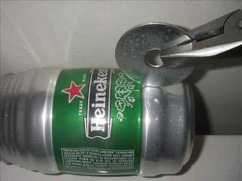 Heineken Keg Pot with Built in Heat Exchanger part of the Troop 73 Alcohol Stove Project