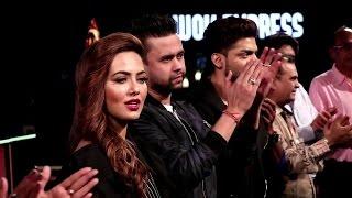 Film 'Wajah Tum Ho' Team Visit May I Come in Madam Set | Sana Khan Hot in Wajah Tum Ho
