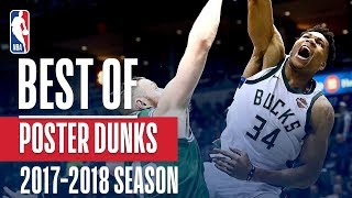 Best 43 Poster Dunks of the 2018 NBA Season! Giannis Antetokounmpo, LeBron James, Joel Embiid