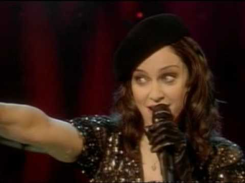 MADONNA  Don't Tell Me ( the jonathan ross show ) 2003