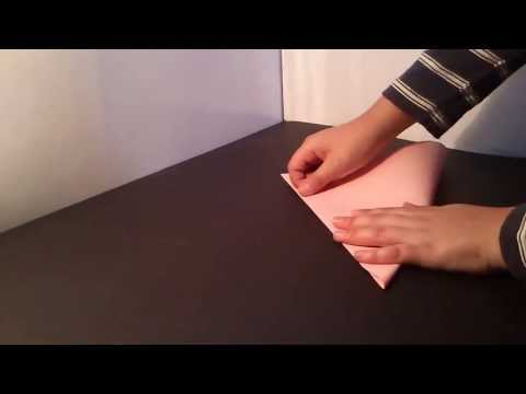 Origami: Mariposa de papel - como hacer una mariposa de origami