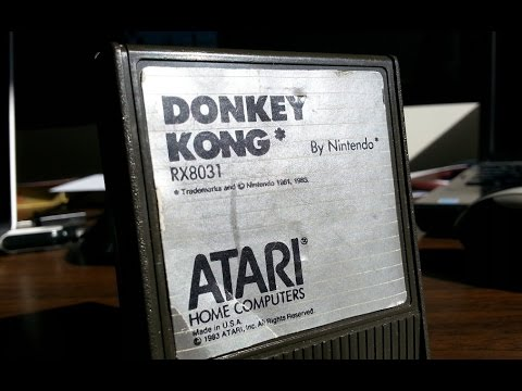 Classic Game Room - DONKEY KONG review for Atari Computers